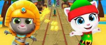 汤姆猫跑酷无限金币钻石