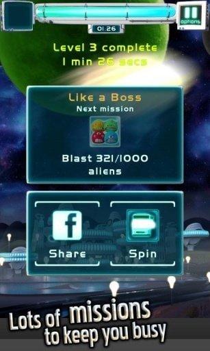 外星人爆破游戏