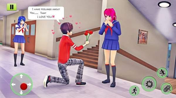 动漫高中女生模拟器3D